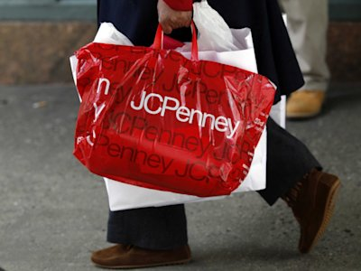 JC Penney retail shopping