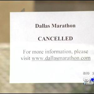 Dallas Marathon Canceled