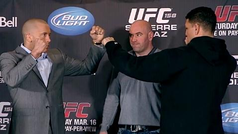 UFC 158 Weigh-in Controversy Rekindled… by Georges St-Pierre
