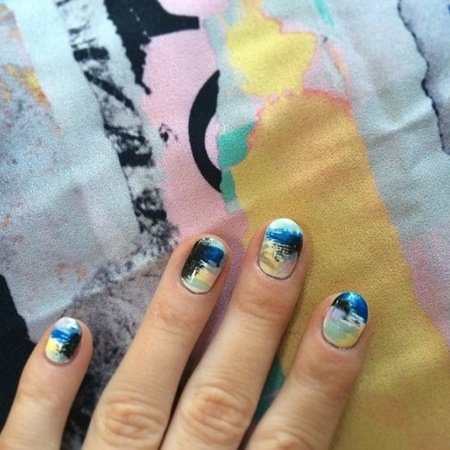 Nail Art And Nail Trends At New York Fashion Week Autumn Winter 2014 View P