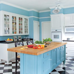 Charm & Smart Savings Kitchen