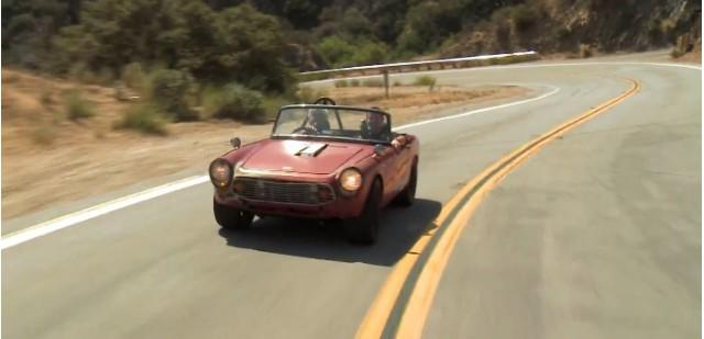 Jay Leno Takes Honda S600 Hot Rod Out For A Spin: Video