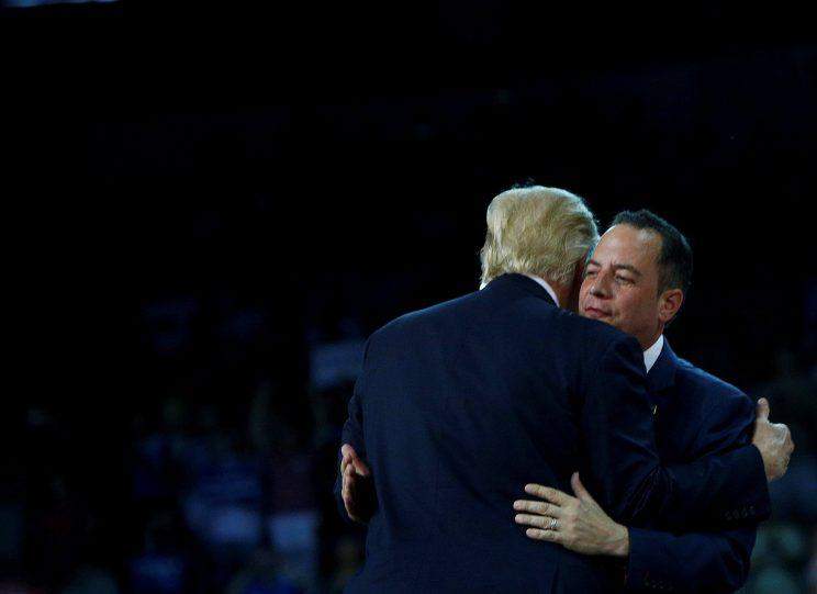 'I don't speak for Donald Trump,' says RNC Chair Reince Priebus