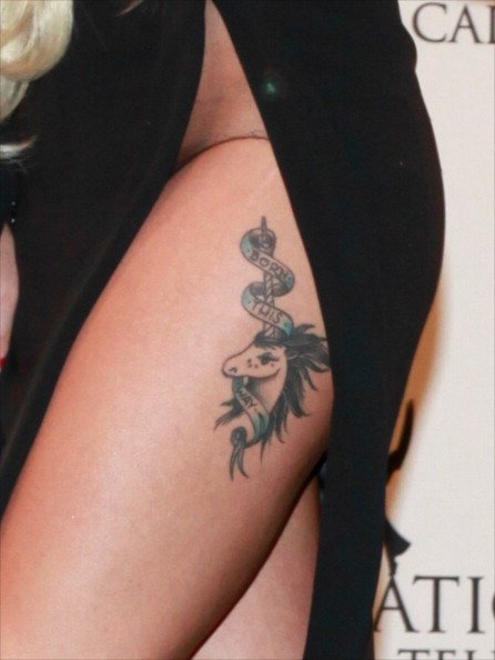 celeb tattoo
