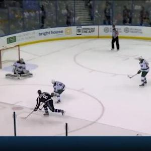 Darcy Kuemper Save on Mark Barberio (16:10/2nd)