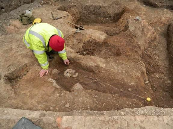 Ancient Roman Cemetery Discovered Beneath Parking Lot