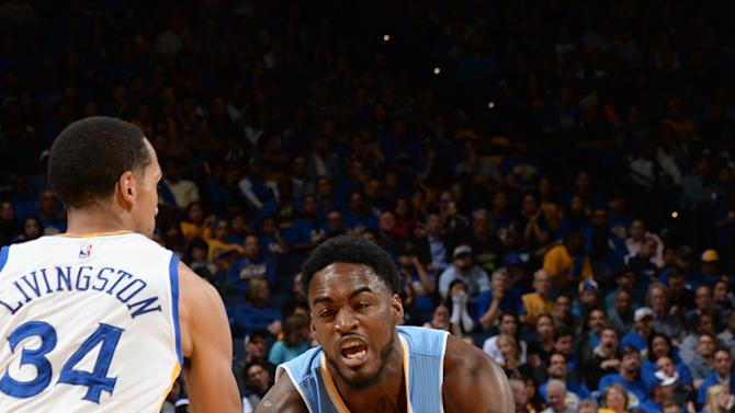 Warriors wrap up regular season with 133-126 win over Denver