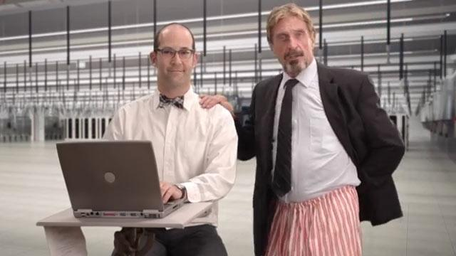 John McAfee's Wild Video: How to Uninstall McAfee Anti-Virus