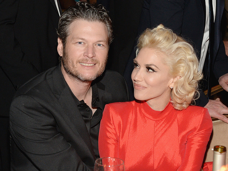 Blake Shelton and Gwen Stefani Stun on Their Romantic Event Debut – and Blake Can't Keep His Hands Off of Her!