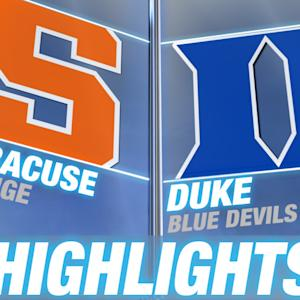 Syracuse vs Duke | 2014-15 ACC Men's Basketball Highlights