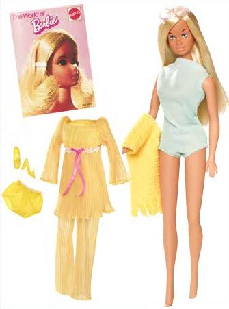 Sunset Malibu Barbie (1971)