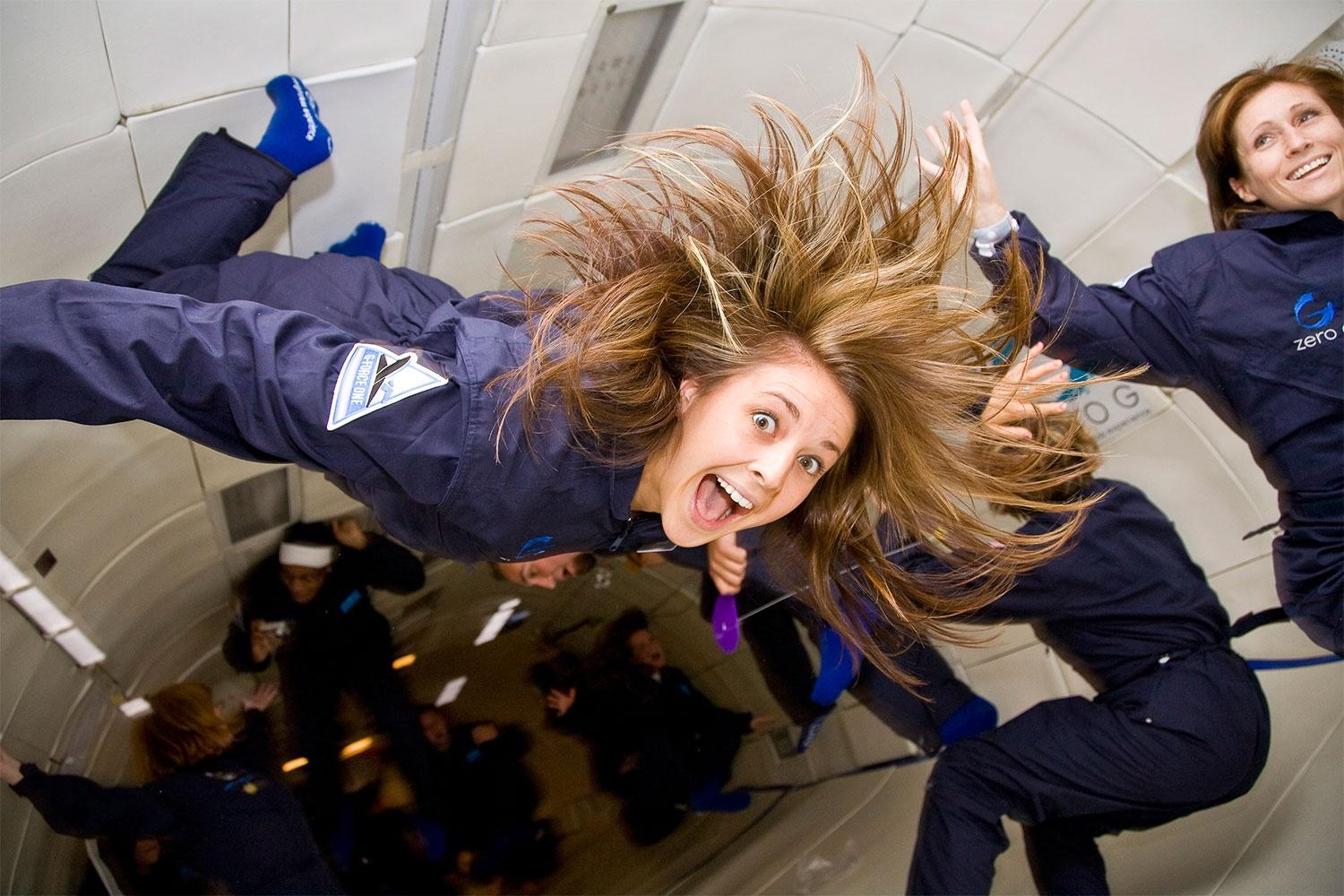 Not just for astronauts and OK Go: How you too can experience zero gravity