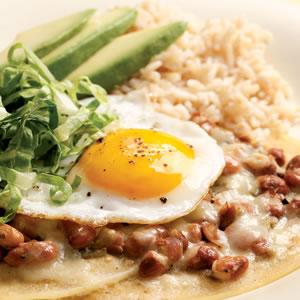 Tuesday: Huevos Rancheros Verdes (recipe below)