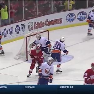 NY Islanders Islanders at Detroit Red Wings - 01/31/2015