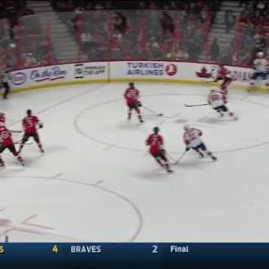 Craig Anderson Save on Erik Gudbranson (06:51/1st)
