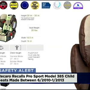 Recaro Recalls Over 39,000 Child Safety Seats