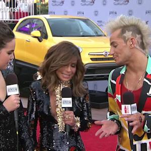 Paula Abdul Busts Out on the Red Carpet
