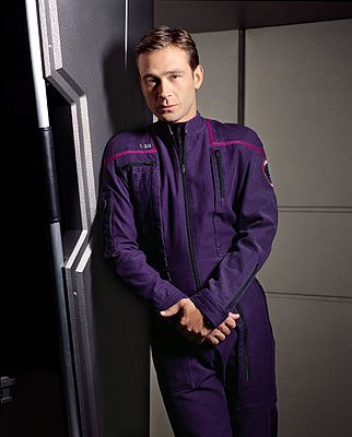 Connor Trinneer as Commander Charlie Tucker on UPN's Enterprise Enterprise