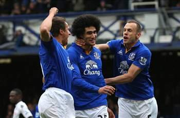 Fellaini: Everton aiming for top-four finish