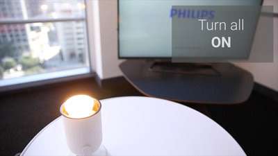 Philips Hue, personal wireless lighting at your fingertips.