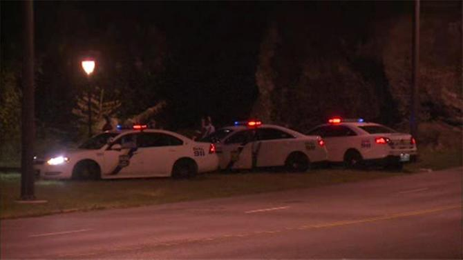 Couple assaulted on Kelly Drive; suspects at large