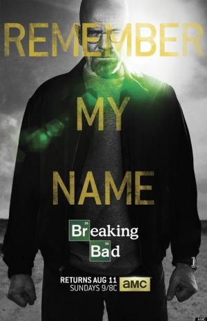 'Breaking Bad' Teaser Poster: Walter White Wants You to Remember His Name (Photo)