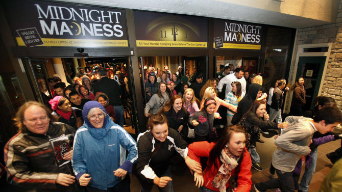 Black Friday creeps into Thanksgiving permanently?