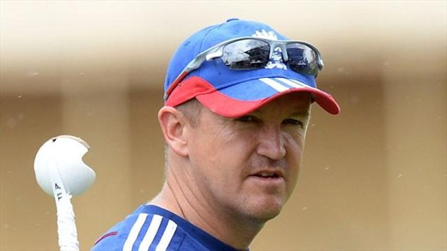 Andy Flower has refused to talk about his future beyond the Ashes