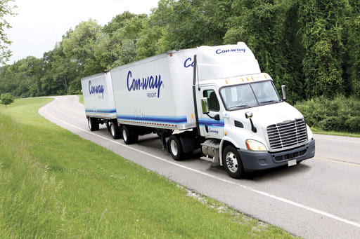 All Con-way Freight Trucks are now fully equipped with the Drive Safe Systems