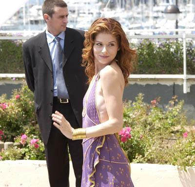 Debra Messing Hollywood Ending Cannes Film Festival - 5/15/2002