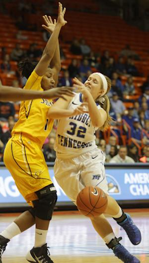 No. 22 Middle Tennessee women win C-USA title