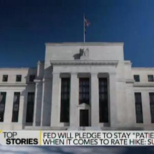 Fed Will Pledge to Stay Patient on Rate Hike