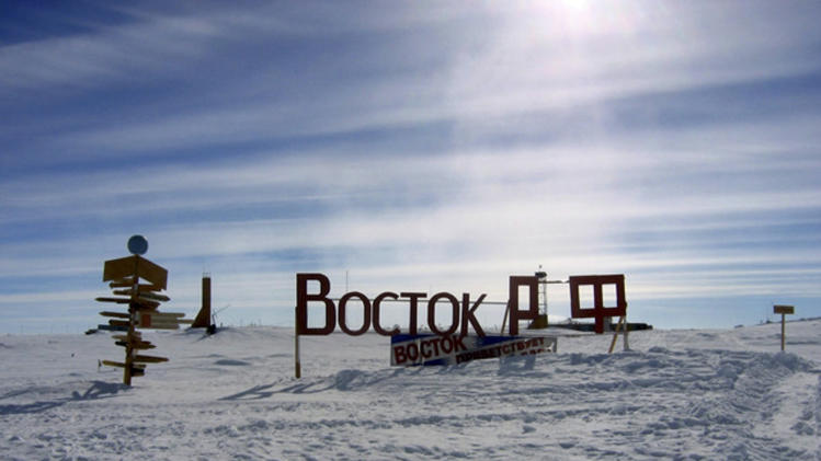 Vostok lake