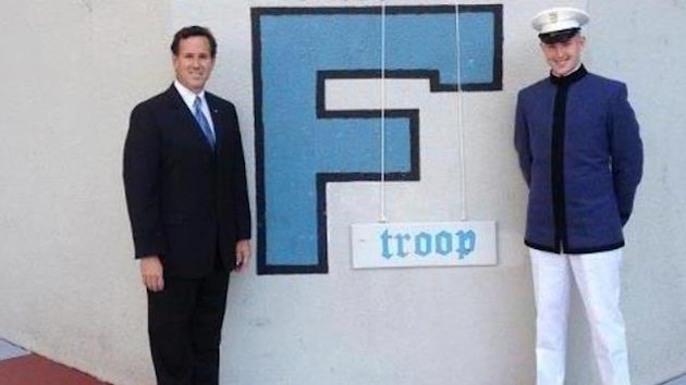 Santorum For President of the Citadel? (ABC News)
