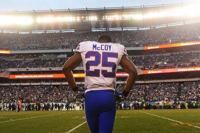 Police: Bills' McCoy, others assaulted off-duty police officers