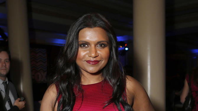Mindy Kaling attend the Fox Winter TCA All Star Party at the Langham Huntington Hotel on Tuesday, Jan. 8, 2013, in Pasadena, Calif. (Photo by Todd Williamson/Invision/AP)