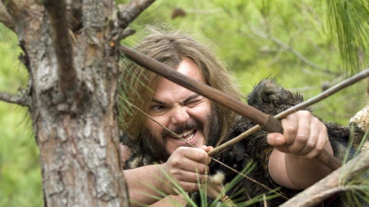 Jack Black Year One Production Stills Columbia 2009