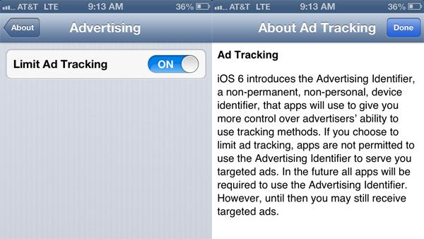 Did you just get an iPhone 5 or upgrade to iOS 6? Here's how to stop advertisers from tracking you