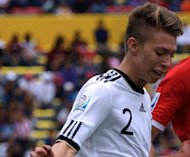 German league giants Bayern Munich have signed teenage winger Mitchell Weiser, pictured here in 2011, from relegated Cologne on a three-year contract, it was announced Friday