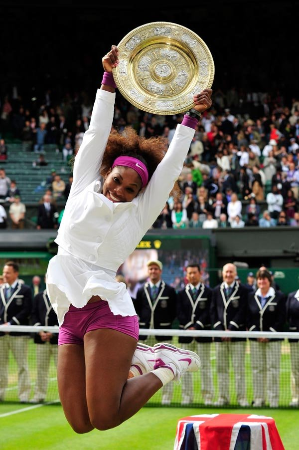 Serena Williams Wins Wimbledon For A Fifth Time