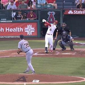 Navarro's first big league homer