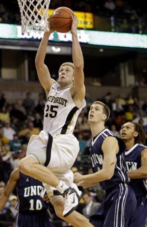 Harris leads Wake Forest past UNC Wilmington 87-78