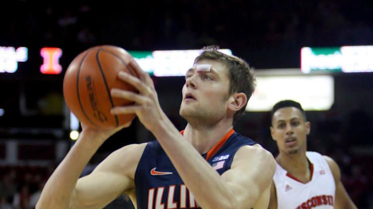 NCAA Basketball: Illinois at Wisconsin