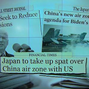 VP Biden aims to ease tension over China air zone