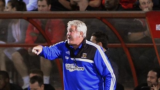 Steve Bruce admitted Hull should have performed better