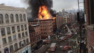 Sushi Park, Pommes Frites Destroyed in Massive East Village Building Explosion