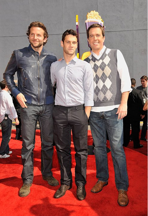 MTV Movie Awards 2009 Bradley Cooper Justin Bartha Ed Helms