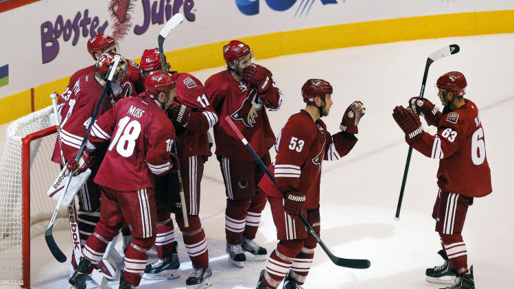 Coyotes looking for consistency at blue line