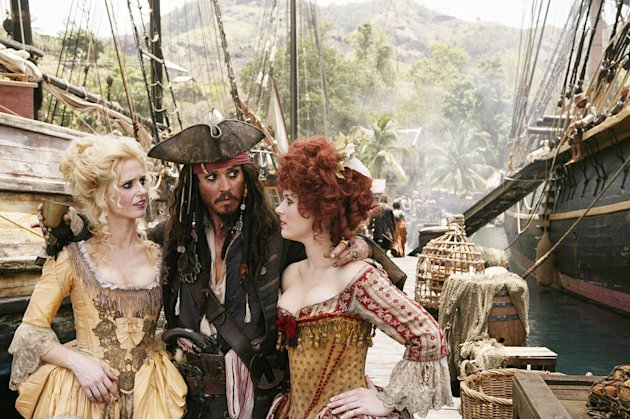 Pirates of the Caribbean At World&amp;#39;s End 2007 Walt Disney Pictures Johnny Depp