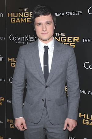 Josh Hutcherson is looking good at the Cinema Society & Calvin Klein Collection screening of 'The Hunger Games' in New York Cityon March 20, 2012 -- Getty Images
